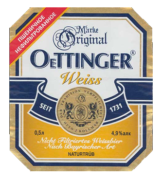 Oettinger weiss